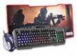 KIT GAMER K-MEX MOUSE/TECLADO/MOUSE PAD KB-A328/MO-T436/FX-X8035